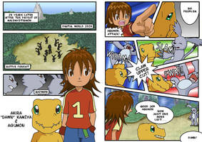 Digimon 2.5 Pages 1 and 2