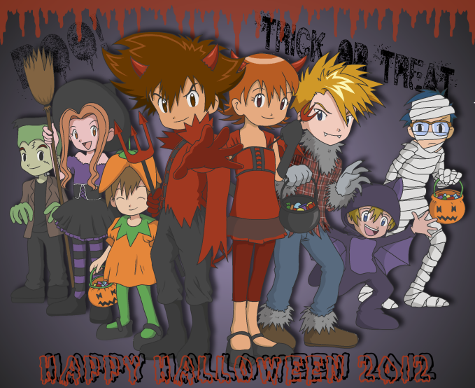 Happy Halloween 2012 by CherrygirlUK19