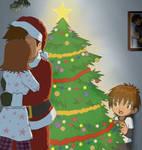 I Saw Mommy Kiss Santa Claus