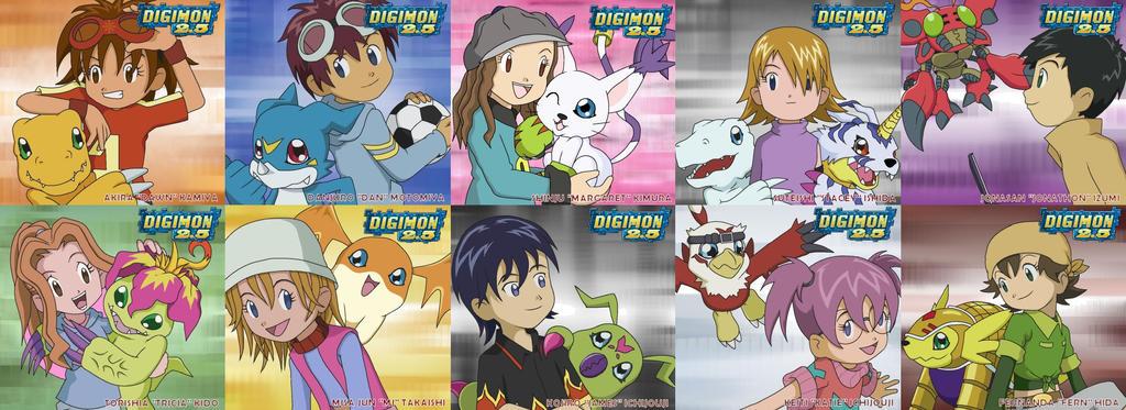 Digimon 2 5 Best Partners By Cherrygirluk19 On Deviantart