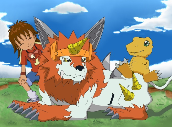 Digimon 2.5 Summer Contest (Drawing): 1ST Place by CherrygirlUK19