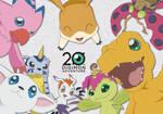 Digimon Odaiba Memorial Day 20th Anniversary