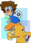 2020: Tai and Agumon