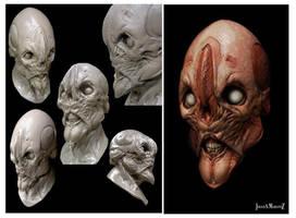 Mask sculpt by JSMarantz