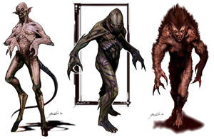 Monster spread by JSMarantz
