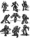 Sci-Fi Sketches
