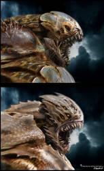 'The Kraken' Head Options 2 by JSMarantz