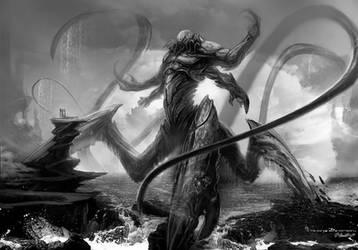 'The Kraken' Body by JSMarantz