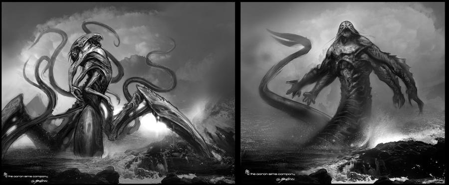 Kraken designs | Titans | Pinterest