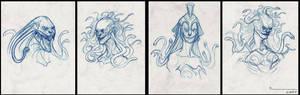Medusa head designs