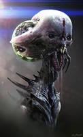Space Ghoul by JSMarantz