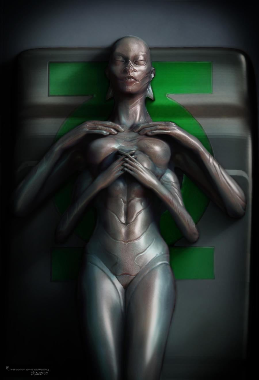 Green Lantern concept by JSMarantz