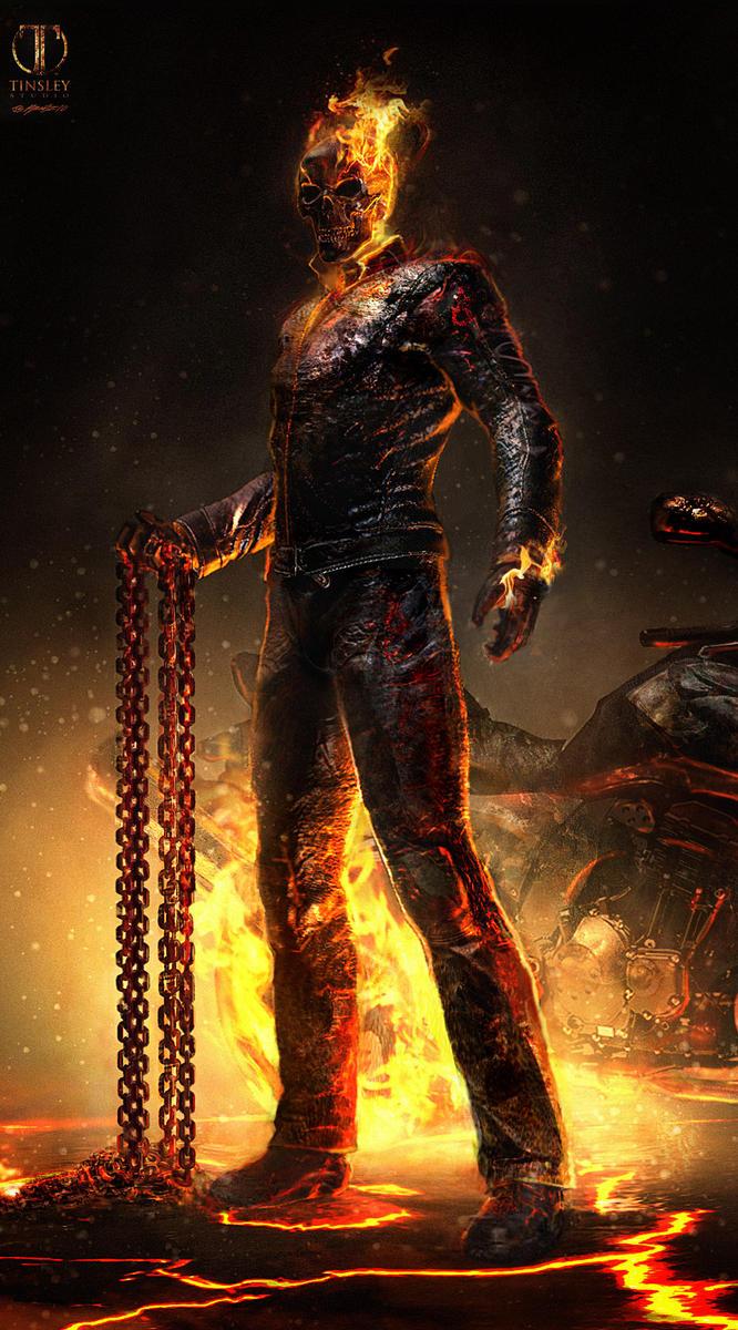 Ghost Rider Spirit of Vengeance Concept1 by JSMarantz