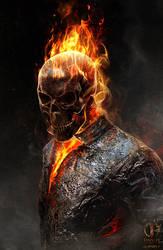 Ghost Rider Spirit of Vengeance Concept2 by JSMarantz