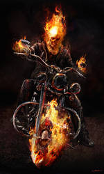 Ghost Rider Spirit of Vengeance Concept3 by JSMarantz