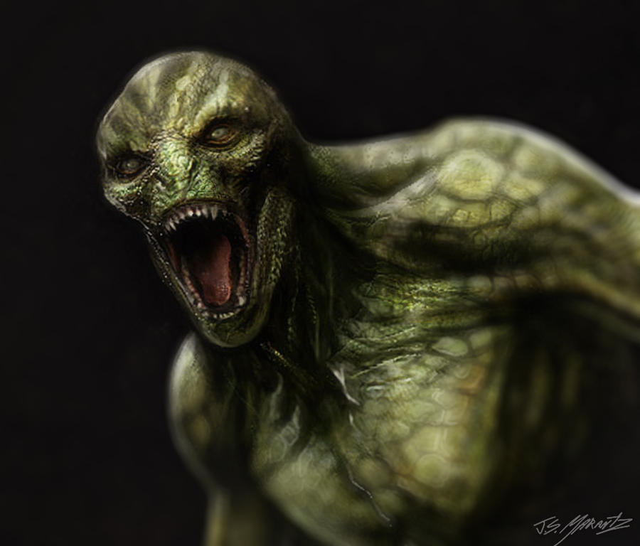 Michael Corbett Amazing_spiderman_lizard_design_by_jsmarantz-d5f9543