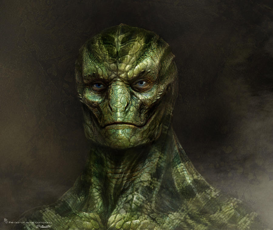 Michael Corbett Amazing_spiderman_lizard_design2_by_jsmarantz-d5f956r