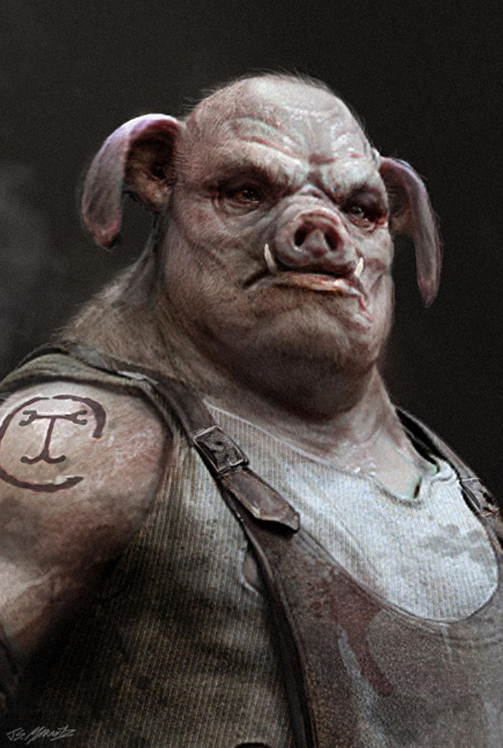 Pig Man by JSMarantz