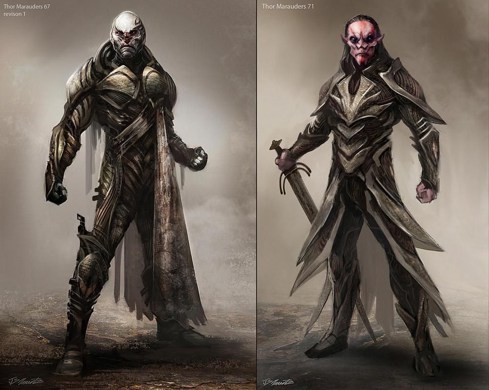 Thor 2 Marauders  2 by JSMarantz