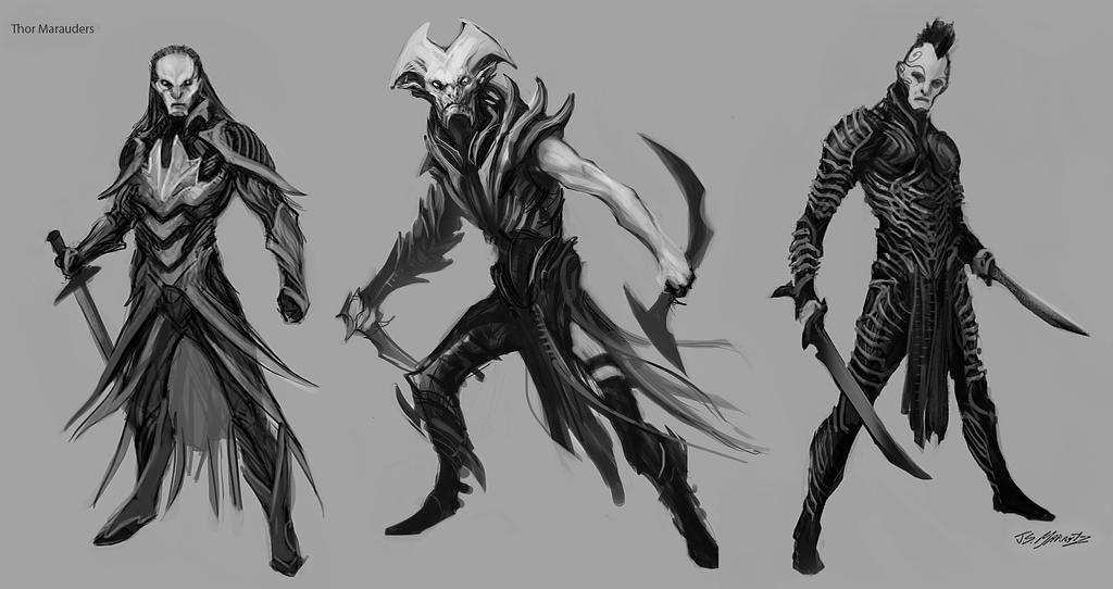 Thor2 Marauders Sketches 2 by JSMarantz