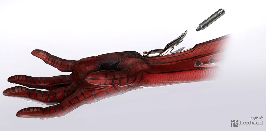 Amazing Spiderman 2 Web shooter Concepts