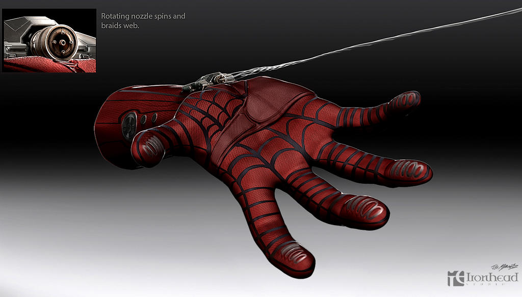 amazing spiderman 2 web shooter concept 2 by jsmarantz on