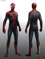 Amazing Spiderman 2 Costume by JSMarantz