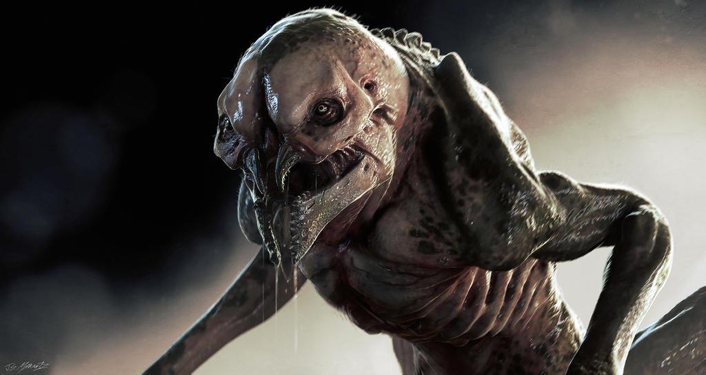 3D Creature Design: The Alien Rock Grubber