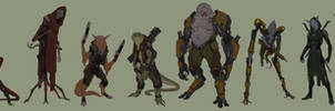 ALIEN OUTLAWS: DESIGN AND BRAINSTORMING GUMROAD