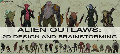 ALIEN OUTLAWS: DESIGN AND BRAINSTORMING on GUMROAD by JSMarantz