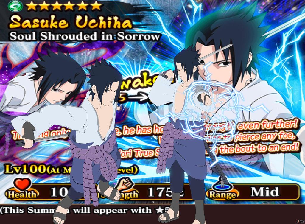 Sasuke Shippuden: Ultimate Ninja Blazing by ramenlover98