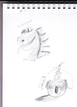Dragonheadanddarthhamster