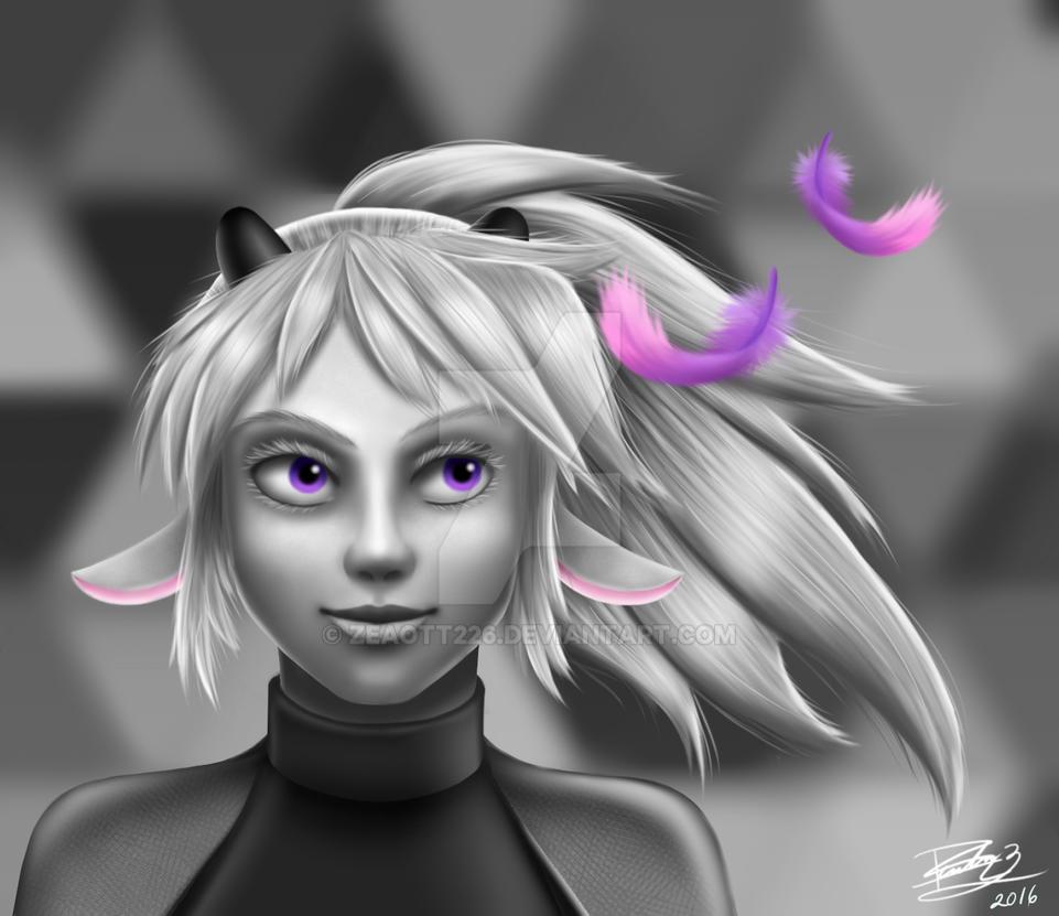 Layla realistic by Zeaott226