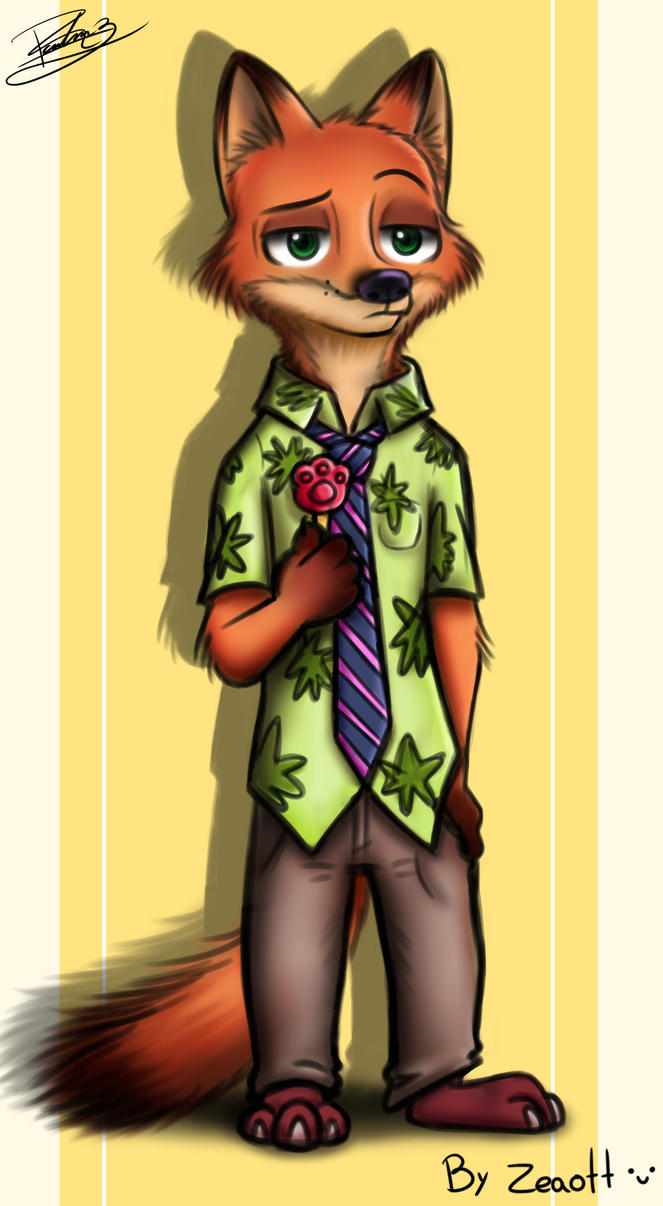 Nick Wilde by Zeaott226