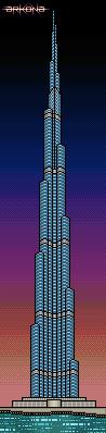 Burj Khalifa by Arkonagames