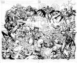 X-Men vs. Street Fighter INKED