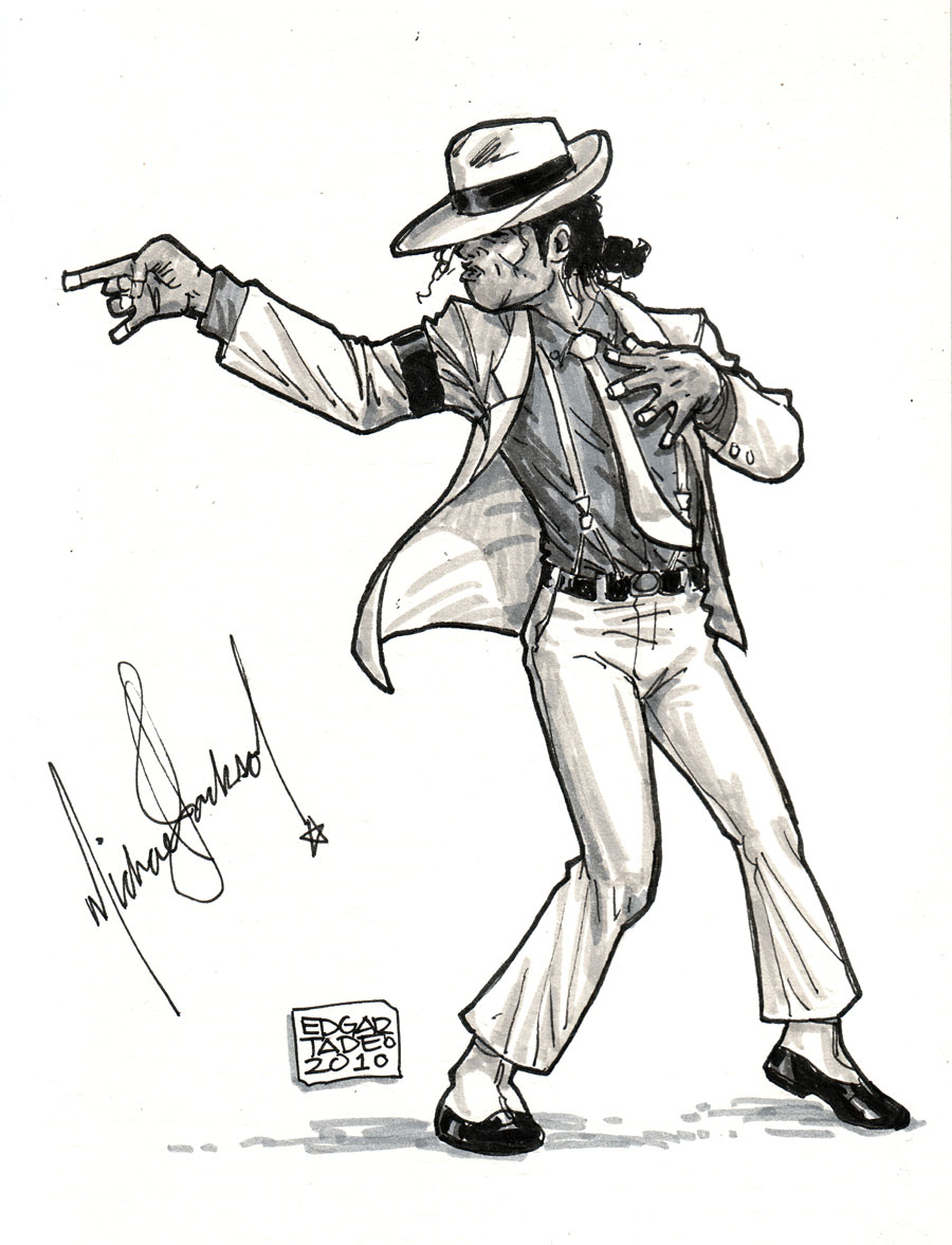 Smooth Criminal by edtadeo on DeviantArt Drawings Of Michael Jackson Easy