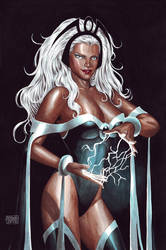 Storm Watercolor by edtadeo