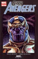 Thanos in Gouache by edtadeo