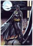 Batman - Gouache