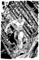 Bionic Man No. 12 Cover by edtadeo