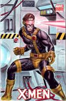 X-men Blank Cyclops by edtadeo