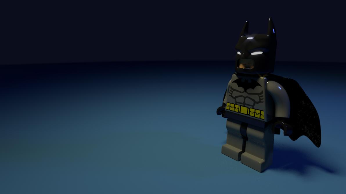 Batman Lego by edtadeo