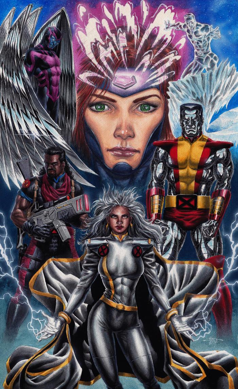 X-Men Gold Team - 1Kpx by edtadeo