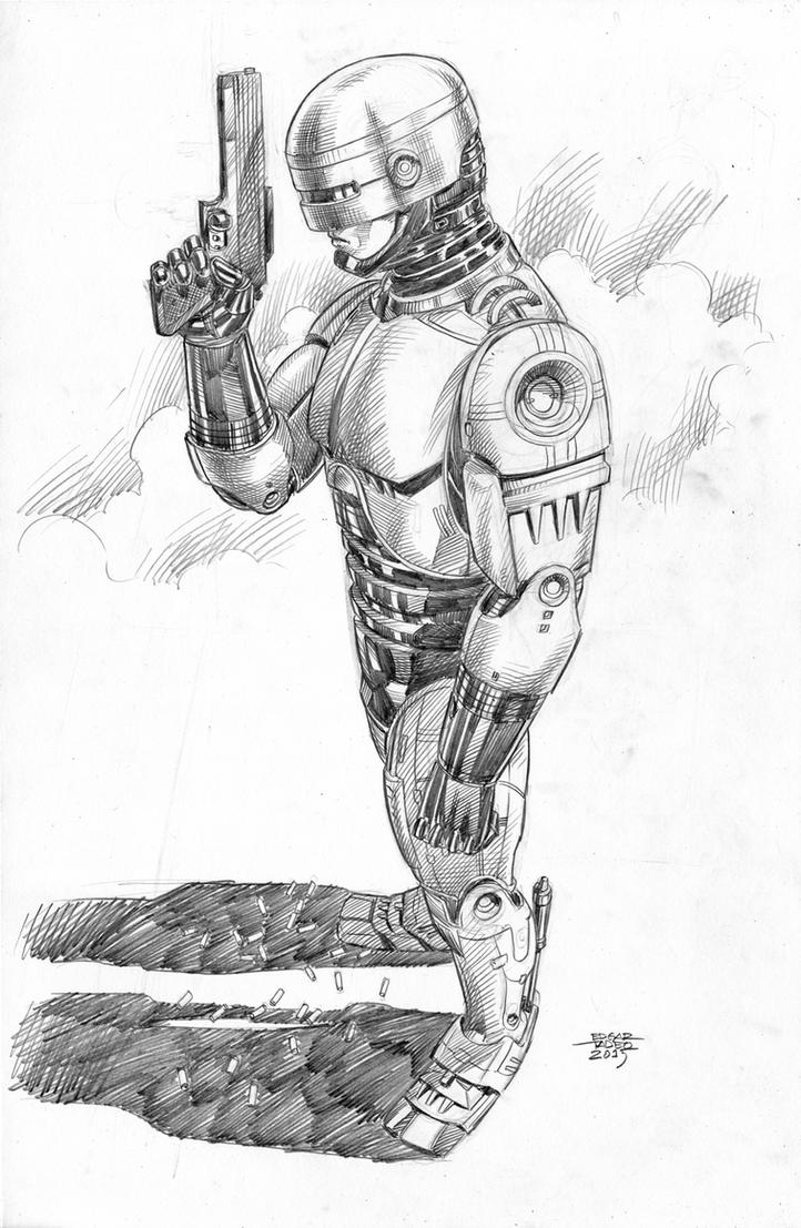 Robocop by edtadeo
