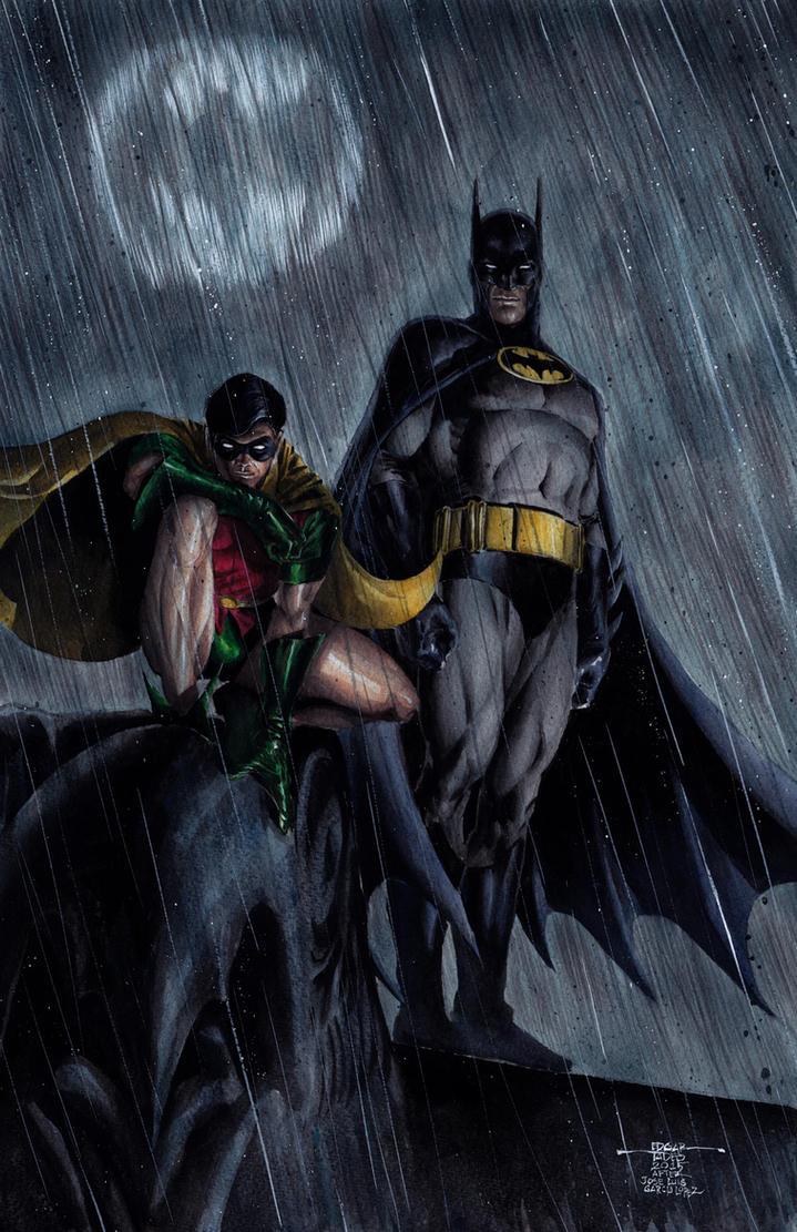 Batman and Robin by edtadeo