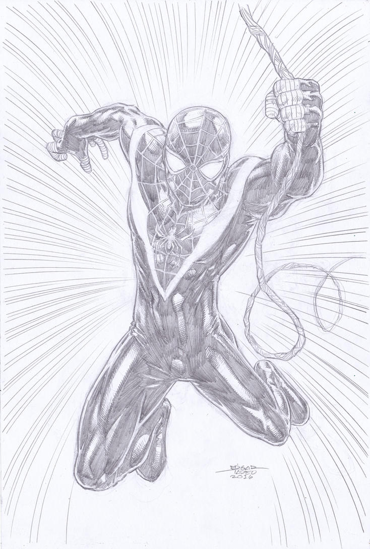 Spider-Man - Morales by edtadeo