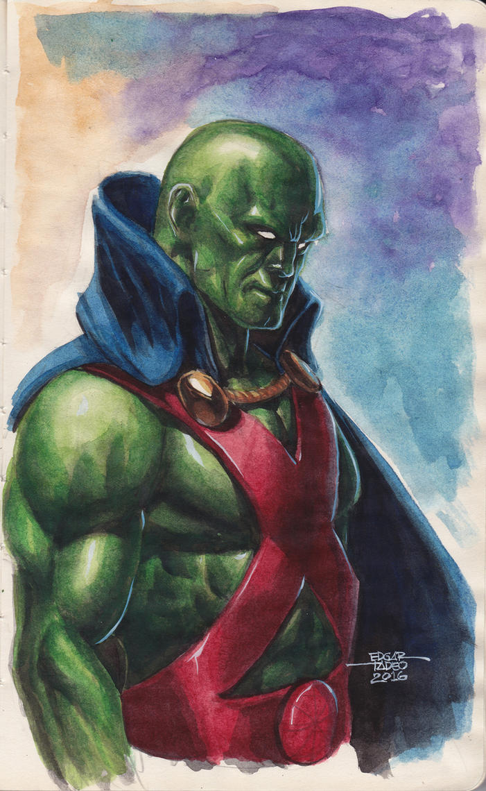 Martian Manhunter by edtadeo