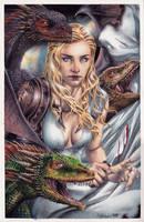 Daenerys Targaryen - Signed by edtadeo