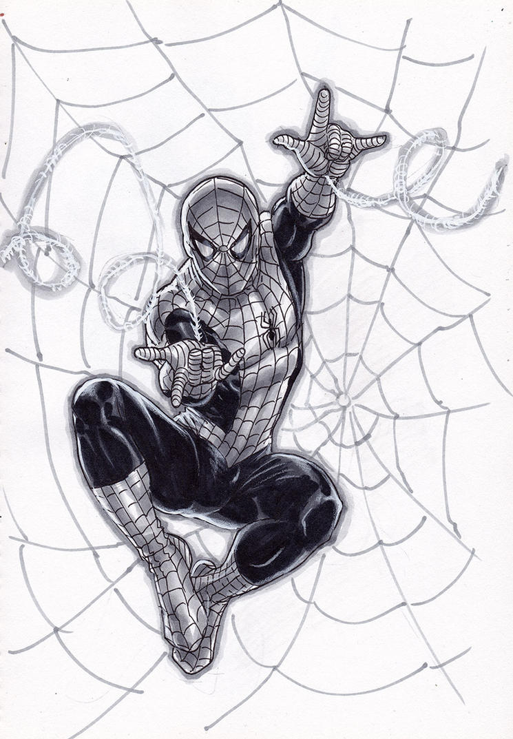 Copic - Spider-Man by edtadeo